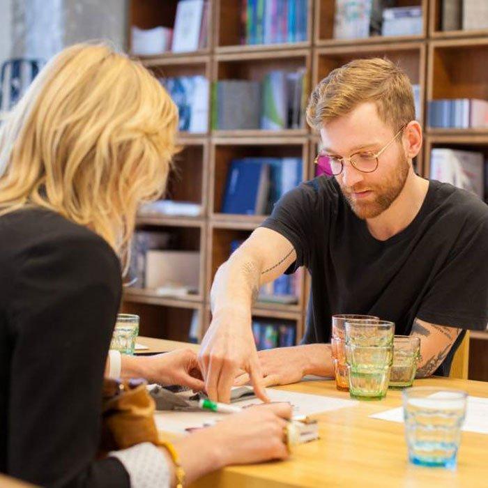 Creatieve werkplaats en materialenbibliotheek
